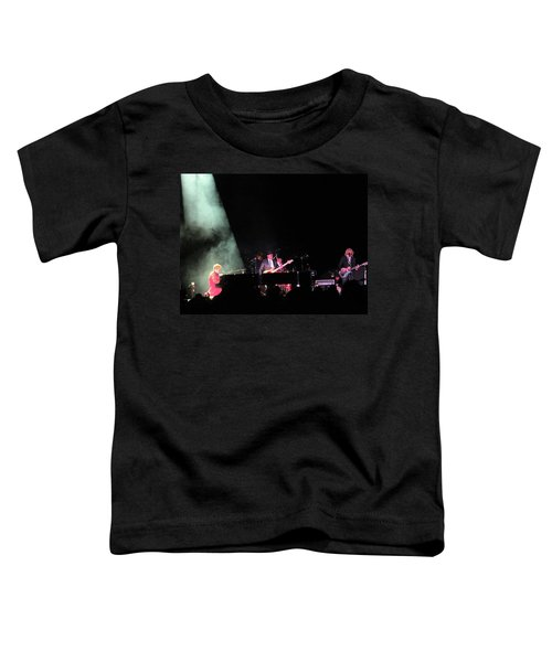 Elton And Band Toddler T-Shirt by Aaron Martens