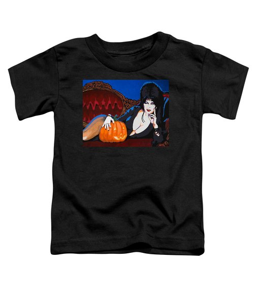 Elvira Dark Mistress Toddler T-Shirt