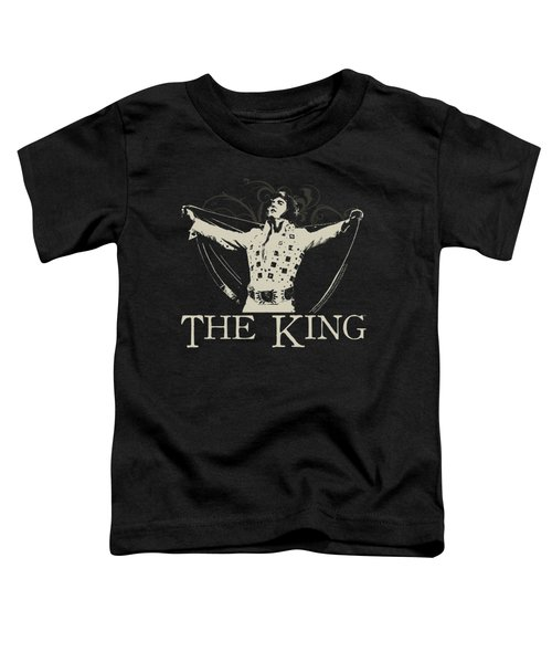 Elvis - Ornate King Toddler T-Shirt by Brand A