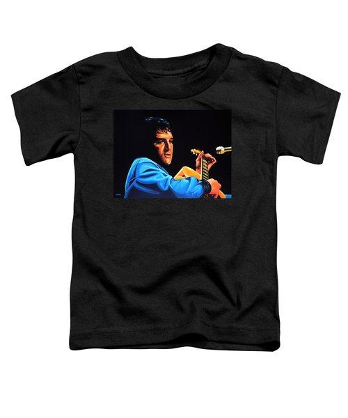 Elvis Presley 2 Painting Toddler T-Shirt