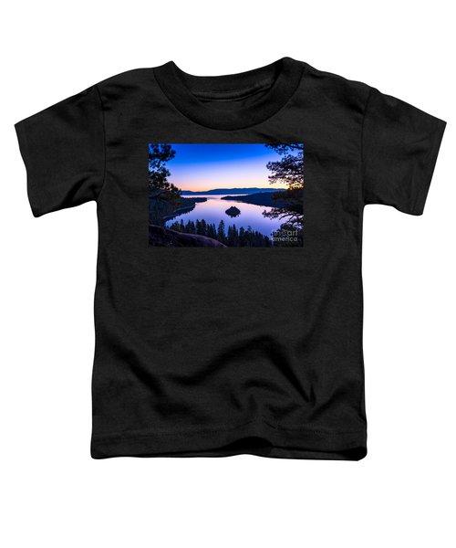 Emerald Bay Sunrise Toddler T-Shirt