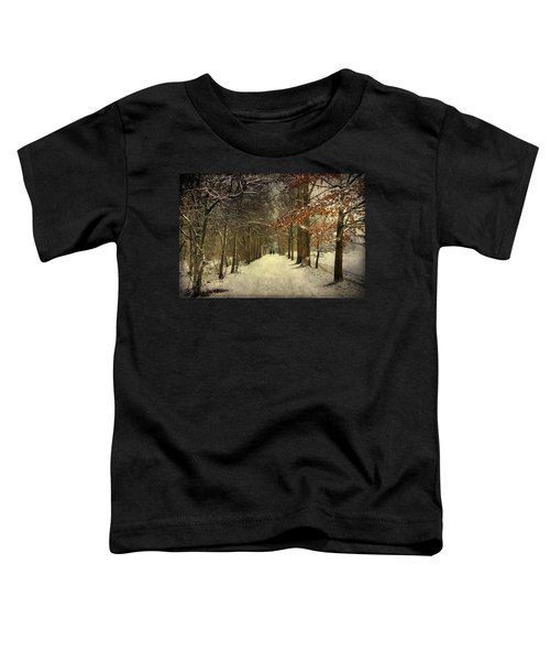 Enchanting Dutch Winter Landscape Toddler T-Shirt