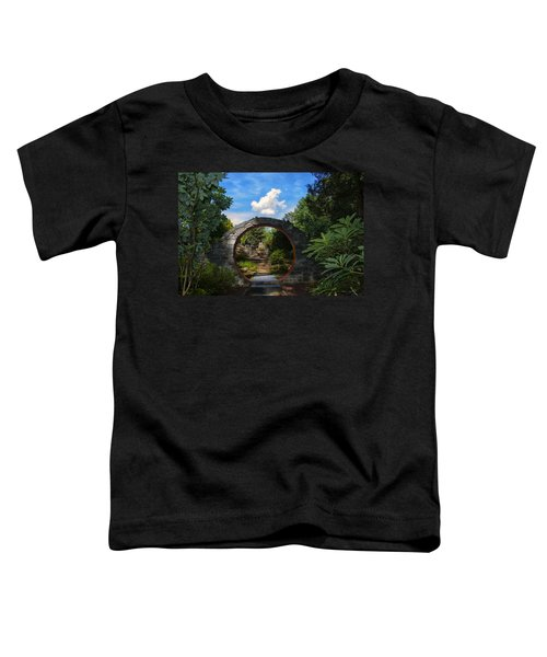 Entering The Garden Gate Toddler T-Shirt