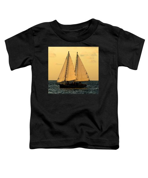 More Sails In Key West Toddler T-Shirt