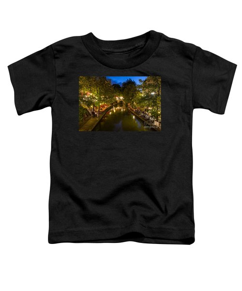 Evening Canal Dinner Toddler T-Shirt