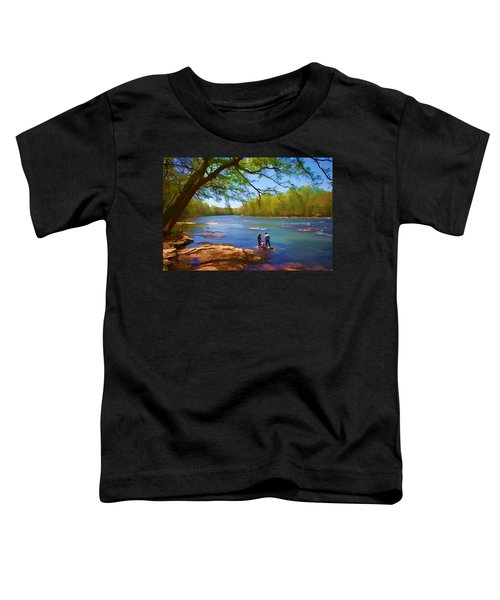 Exploring The River Toddler T-Shirt