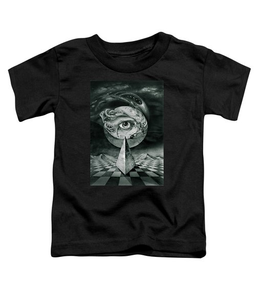 Eye Of The Dark Star Toddler T-Shirt