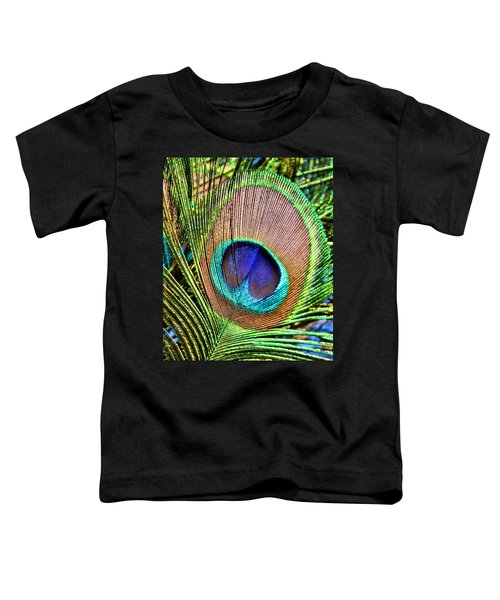 Eye Of The Feather Toddler T-Shirt