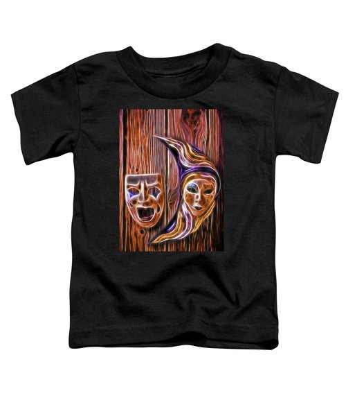 Faces On The Wall Toddler T-Shirt