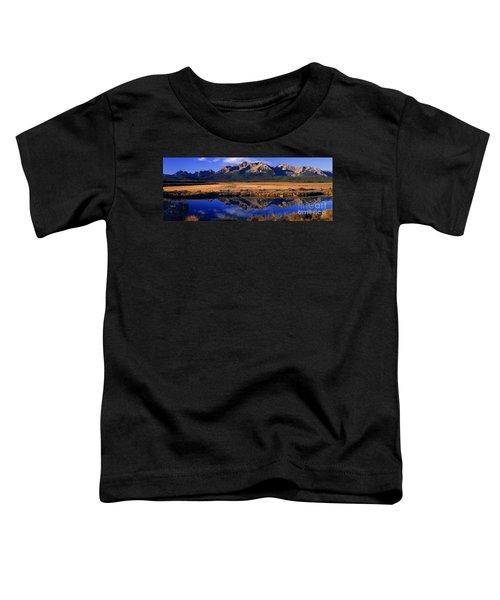 Fall Reflections Sawtooth Mountains Idaho Toddler T-Shirt