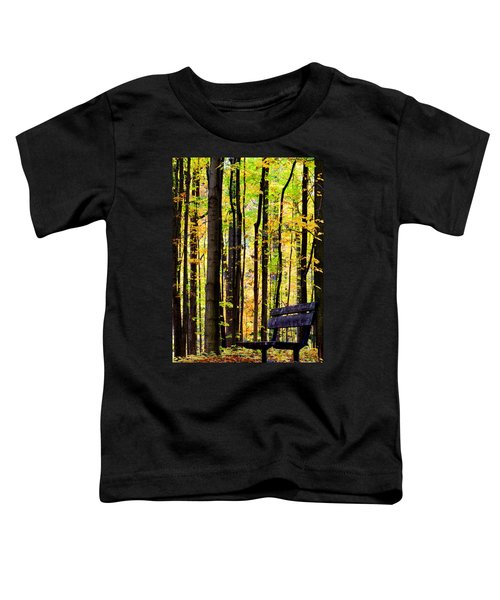 Fall Woods In Michigan Toddler T-Shirt