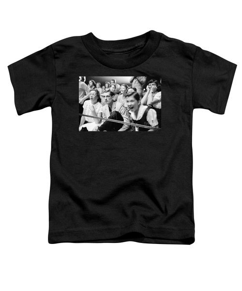 Fans Reacting To Elvis Presley Performing 1956 Toddler T-Shirt
