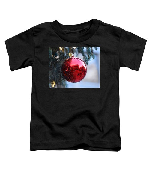 Faneuil Hall Christmas Tree Ornament Toddler T-Shirt