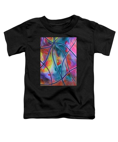 Faux Stained Glass II Toddler T-Shirt