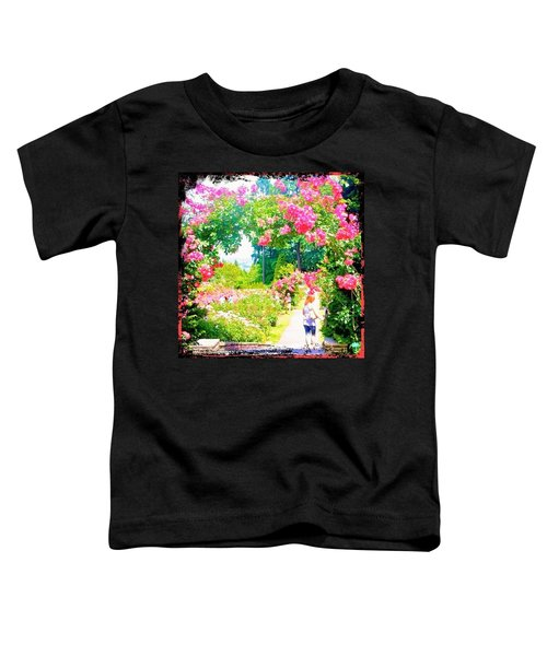 Favorite Places Portland International Rose Test Gardenss Toddler T-Shirt