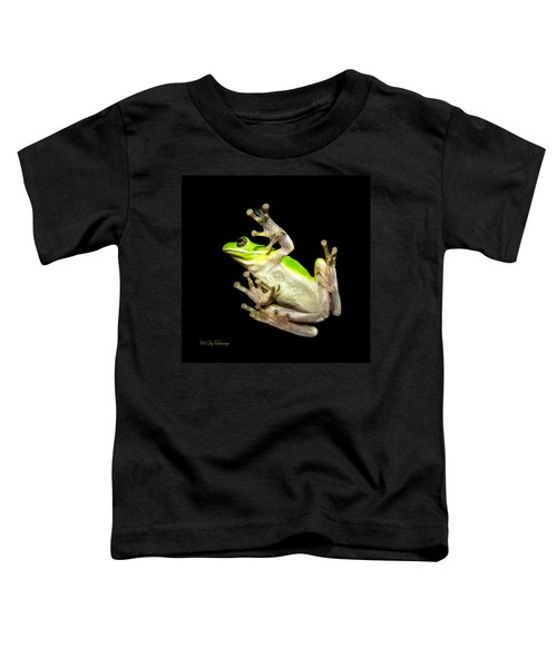 Feathered Frog Toddler T-Shirt