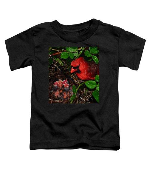 Feed Me Daddy Toddler T-Shirt