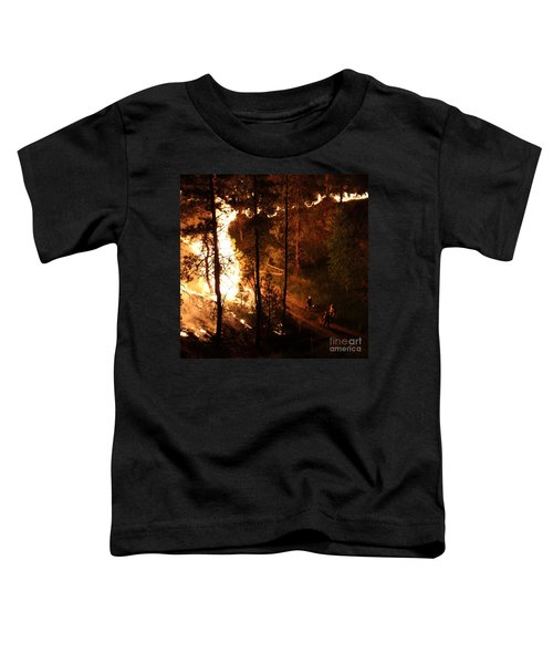 Firefighters Burn Out On The White Draw Fire Toddler T-Shirt