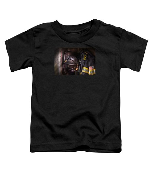 Fireman - Worn And Used Toddler T-Shirt