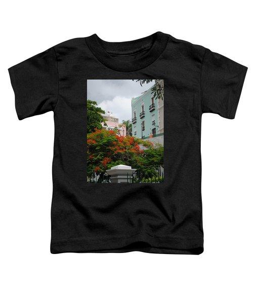 Flamboyan In Park Toddler T-Shirt