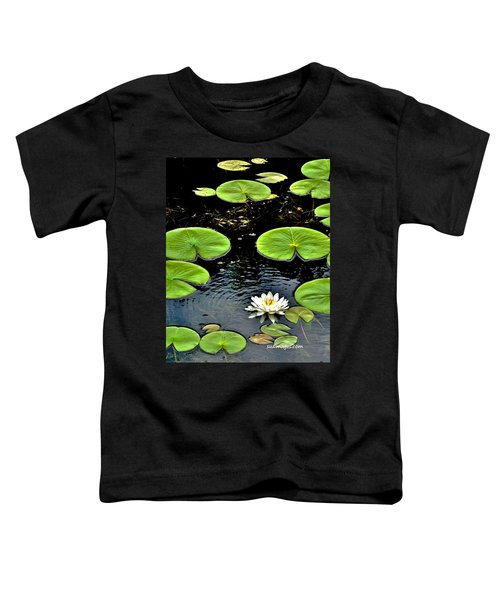Floating Lily Toddler T-Shirt