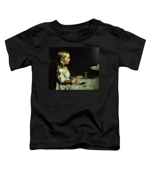 Florence Cope Saying Grace At Dinnertime Toddler T-Shirt
