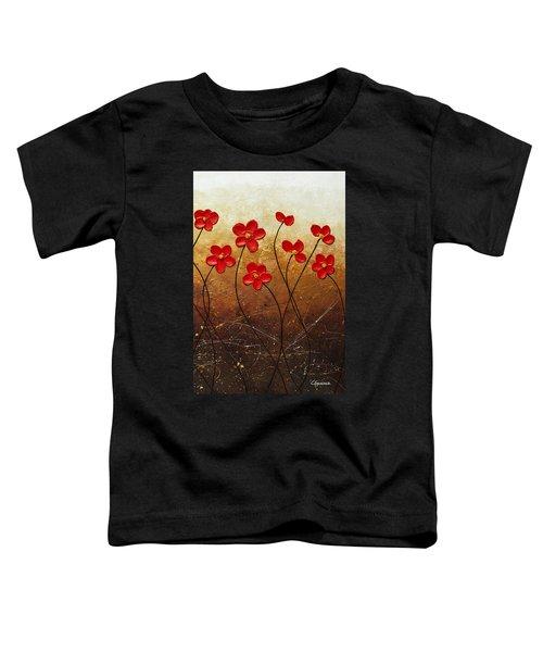Flores De Mi Jardin 3 Toddler T-Shirt