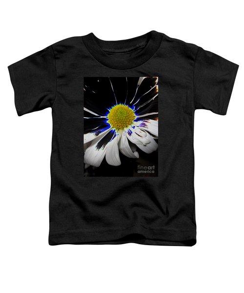 Art. White-black-yellow Flower 2c10  Toddler T-Shirt
