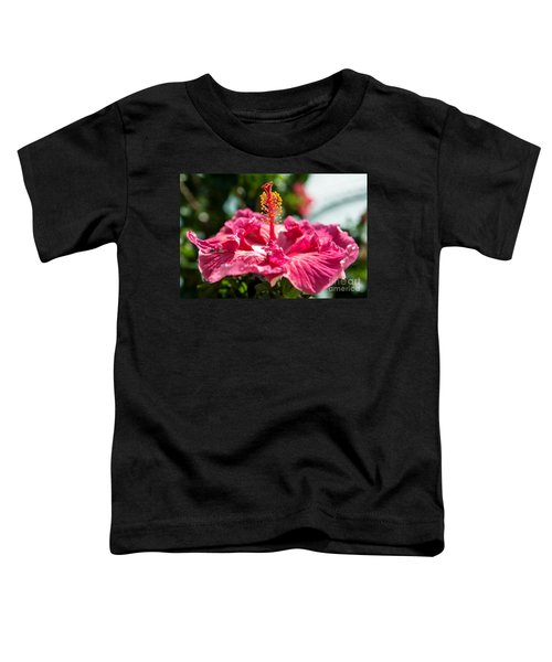 Flower Closeup Toddler T-Shirt