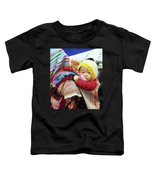 Flower Hmong Baby 04 Toddler T-Shirt