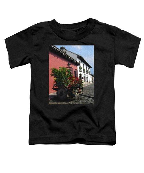 Flower Wagon Antigua Guatemala Toddler T-Shirt