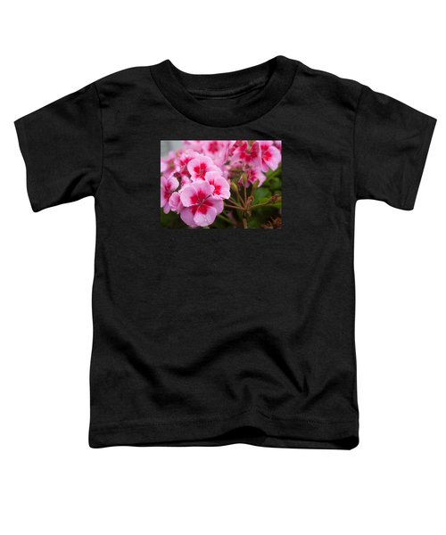 Flowers On A Rainy Sunday Afternoon Toddler T-Shirt