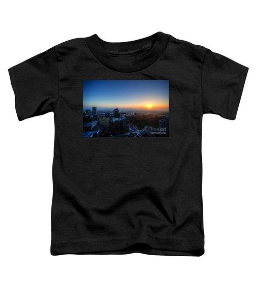 Foggy Sunset Toddler T-Shirt