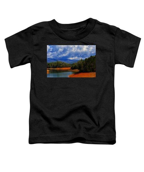 Fontana Lake Storm Toddler T-Shirt