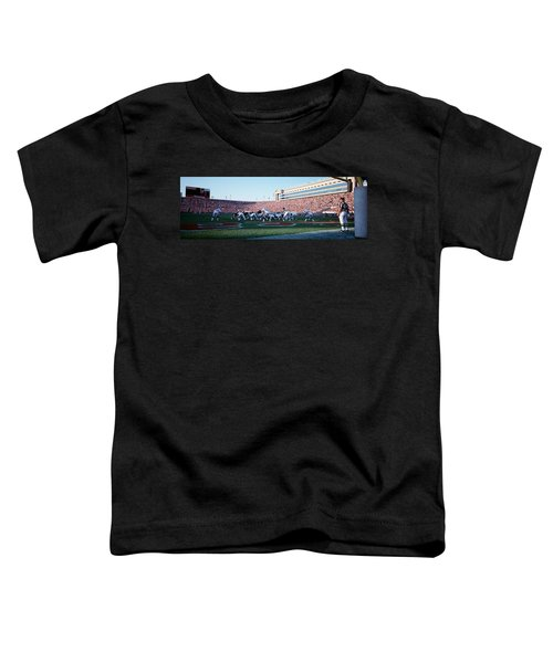 Football Game, Soldier Field, Chicago Toddler T-Shirt by Panoramic Images