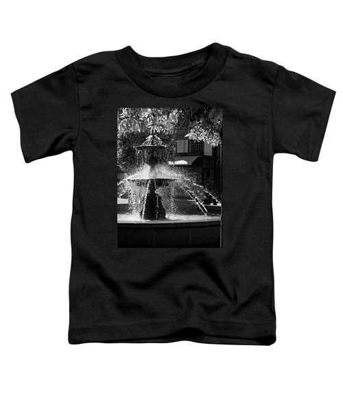 Fountain On Place Toulzac / Brive La Gaillarde Toddler T-Shirt