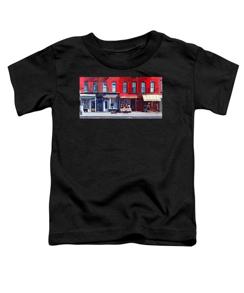 Four Shops On 11th Ave Toddler T-Shirt