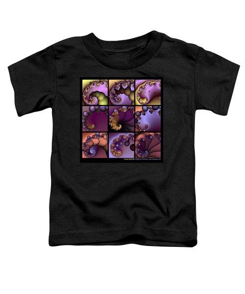Fractal Quilt 2  Toddler T-Shirt