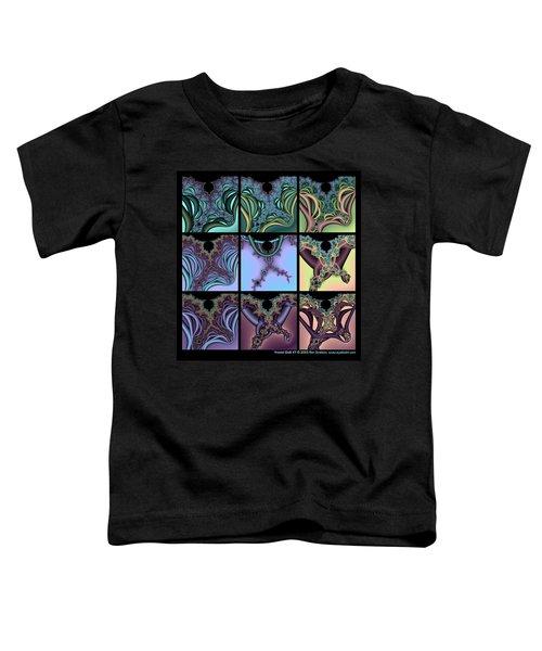 Fractal Quilt 7 Toddler T-Shirt