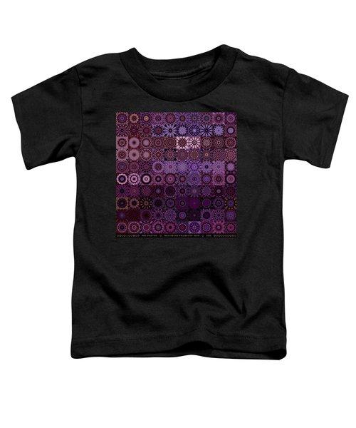 Fractascope Kaleidestry 10x10 Toddler T-Shirt