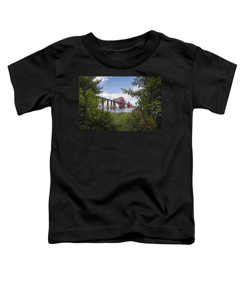 Framing The Forth Bridge Toddler T-Shirt