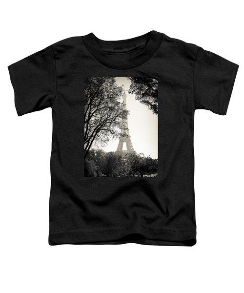 The Eiffel Tower Paris France Toddler T-Shirt