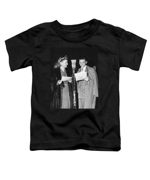 Frank Sinatra And Ann Sheridan Toddler T-Shirt