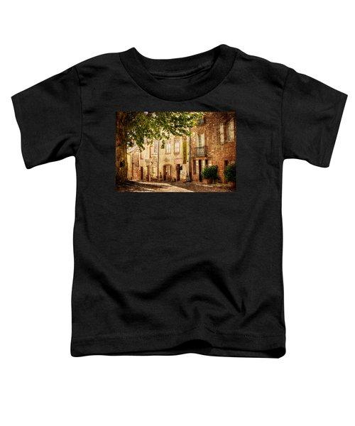 French Village Street / Meyssac Toddler T-Shirt