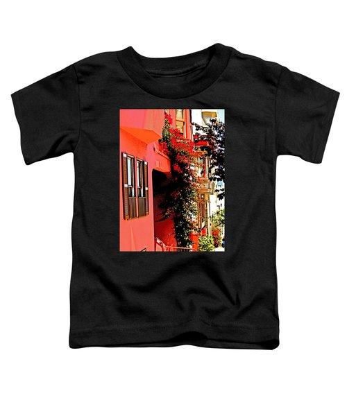 Frisco Street Flowers Toddler T-Shirt