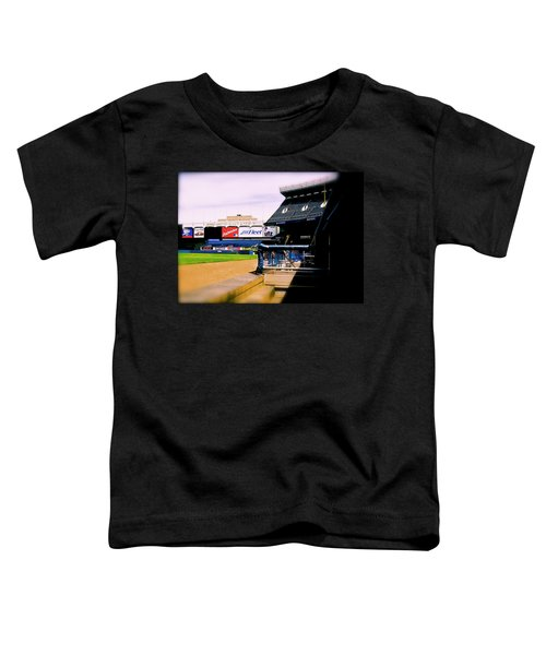 From The Dugout  The Yankee Stadium Toddler T-Shirt