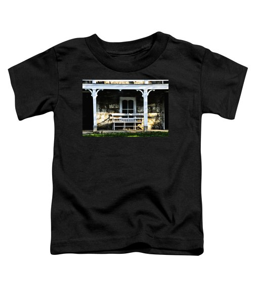 Front Porch Bench Toddler T-Shirt