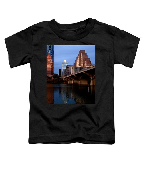 Frost Across The River Toddler T-Shirt