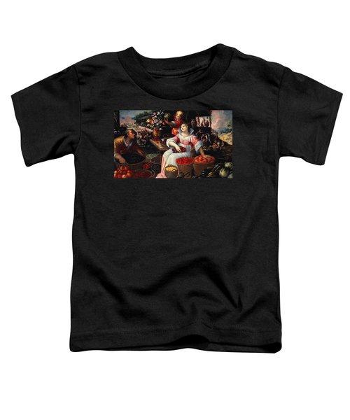Fruitmarket Summer, 1590 Toddler T-Shirt