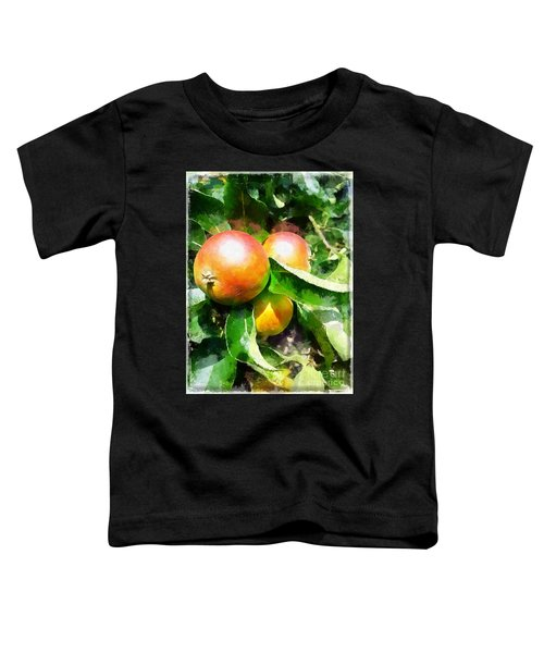 Fugly Manor Apples Toddler T-Shirt